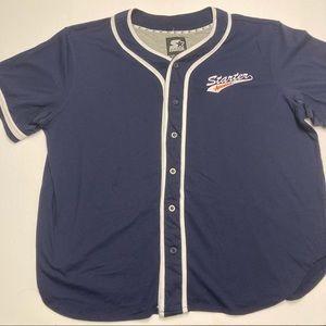 Vintage Starter Athletic Baseball Jersey Tshirt XL